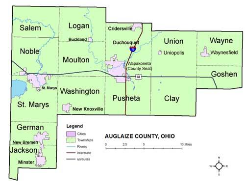 Ohio Genealogy Express Auglaize County Ohio Auglaize